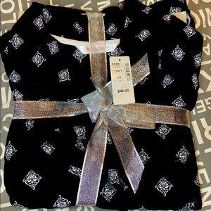Woman's NWT black pajamas.